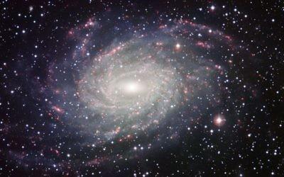 Une photographie de la galaxie NGC 6744, qui ressemblerait à notre Voie lactée (Crédit : CC BY, ESO / Wikimedia)