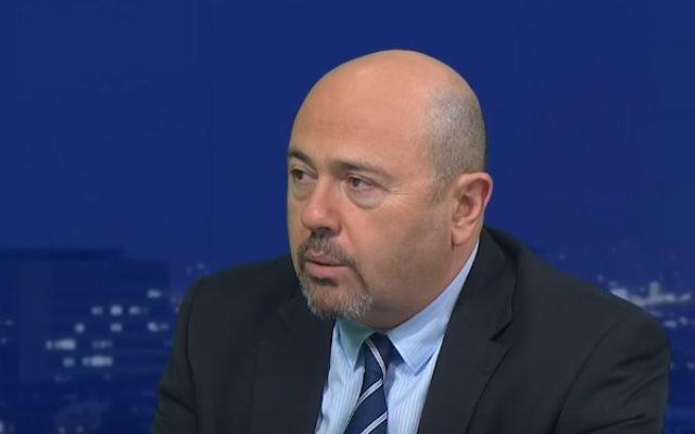 Gary Koren, ambassadeur d'Israël en Russie. (Crédit : capture d'écran YouTube)
