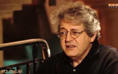 L'historien juif français Georges Bensoussan (Crédit : capture d'écran YouTube)