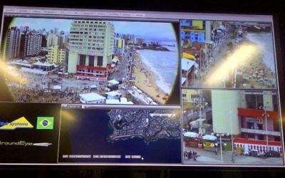 Le système de surveillance GroundEye d'Elbit permet aux utilisateurs de zoomer et de manoeuvrer entre divers domaines d'intérêt pour identifier les menaces possibles. (Crédit: Elbit )