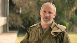 Le général de brigade Mordechai Kahana, responsable des renseignements israéliens et de la Force de défense des frontières. (Crédit : unité des porte-paroles de l'armée israélienne)