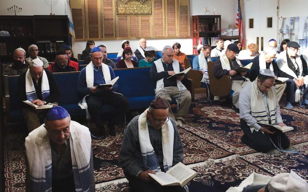 Datant d'un homme juif conservateur