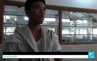 Les Kukis, tribu perdue aux confins du Bengale s'est installée en Israël (Crédit: capture  d'écran Youtube/France24)