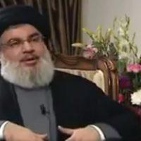 Hassan Nasrallah, le chef du Hezbollah, pendant un entretien accordé à la télévision publique iranienne, le 20 février 2017. (Crédit : capture d'écran Twitter)