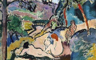 La Pastorale, d'Henri Matisse, en1905 (WikiArt)