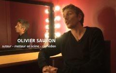 L'acteur Olivier Sauton présente de plates excuses après une séries de tweets antisémites (Crédit: capture d'écran Youtube)