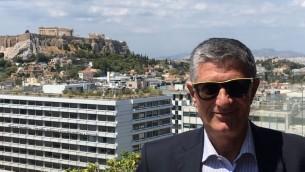 Haim Tomer ancien chef du renseignement et des opérations du Mossad s'est exprimé au CyberTech 2017 (Crédit: : autorisation)