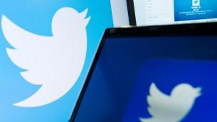Le logo du réseau social Twitter. Illustration. (Crédit: Leon Neal/AFP)
