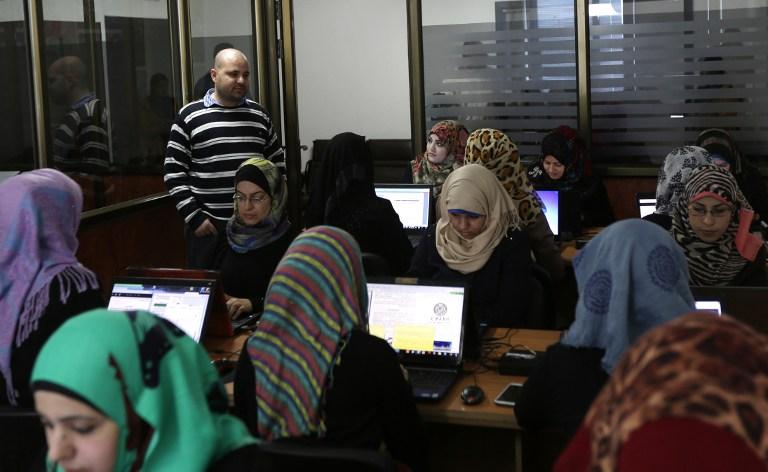 نتيجة بحث الصور عن femmes employées a gaza