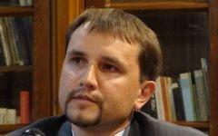 Volodymyr Vyatrovych, historien à la tête d'un institut ukrainien public. (Crédit : CC BY-SA/Wikimedia)