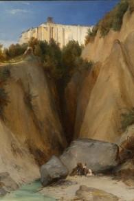 Scolastica bei Subiaco' (1832) de Karl Blechen, restitué aux héritiers de Rudolf Mosse. (Autorisation)