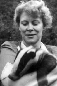 La vraie 'Zookeeper's Wife', épouse du gardien du zoo, Antonina Zabinski (Crédit : Yad Vashem)