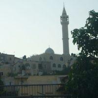 Une mosquée et son minaret. Illustration. (Crédit : domaine public/Wikipedia)