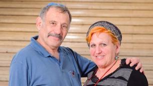 Avigdor et Adi Sharon (Crédit : Chaim Meiersdorf/Matnat Haim)