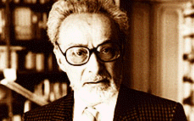 Primo Levi (Crédit : Wikimedia Commons)