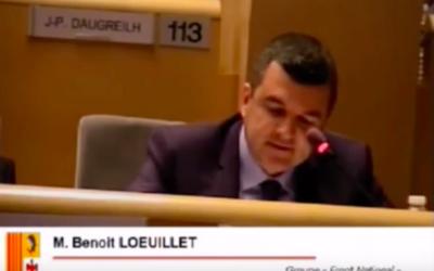 Benoît Loeuillet (Crédit : Capture d'écran YouTube)
