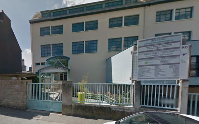 Entrée du lycée Saint-Joseph de Concarneau dans le Finistère (Crédit : Capture d'écran Google Street)