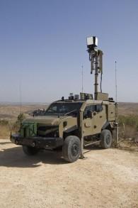 Le véhicule de surveillance ELI-3302 Granite, conçus par l'IAI sera vendu à un pays d'Amérique latine. (Crédit : autorisation)