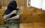 Photo d'illustration d'un soldat de l'armée israélienne dans un tribunal militaire (Crédit : Tsafrir Abayov/Flash90)