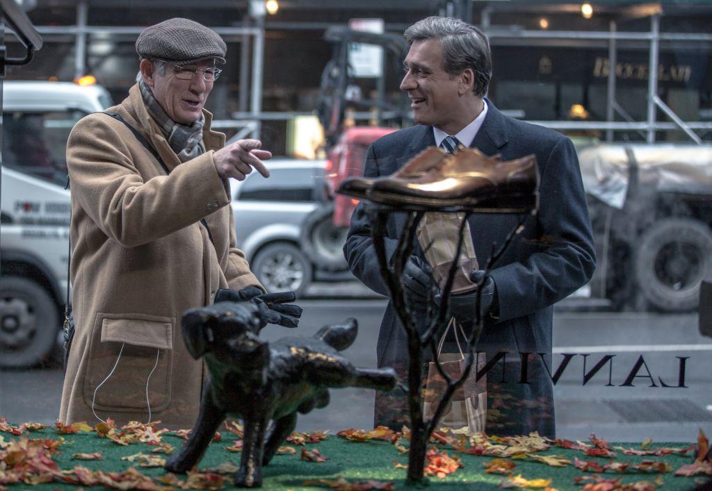 """Une scène du dernier film de Joseph Cedar, """"Norman"""". (Crédit : Sony Pictures Classics)"""