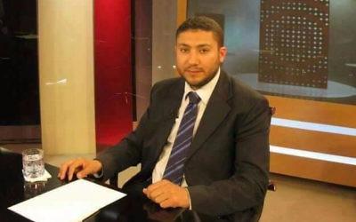 Muhammad Murtaja, 40 ans, arrêté par le Shin Bet qui le soupçonne d'avoir détourner l'argent d'une association turque au profit du Hamas. (Crédit : COGAT)