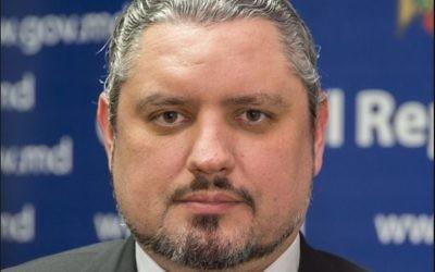 Andrei Galbur, ministre moldave des Affaires étrangères (Crédit: gouvernement moldave)
