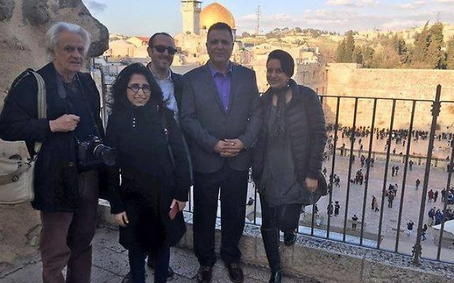 Une délégation de journalistes et blogueurs maghrébins se sont rendus en Israël à l'invitation du ministère des Affaires étrangères (Crédit: Ministère des Affaires étrangères israélien)