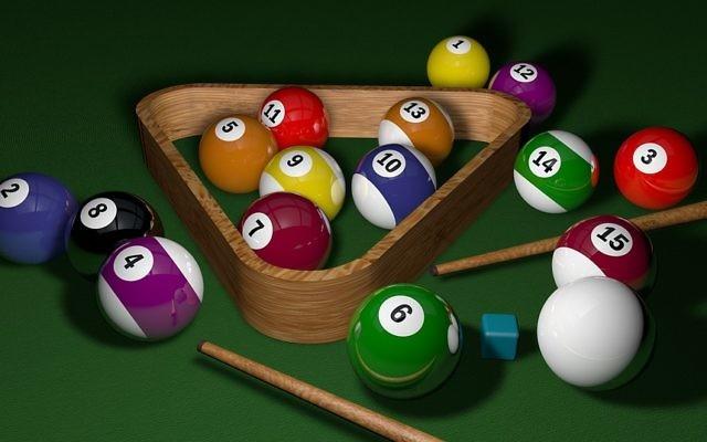 Illustration de boules de billard (Crédit : Pixabay/domaine public)