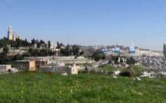 Maquette du projet de funiculaire de la Vieille Ville de Jérusalem. (Crédit : Dixième chaîne)
