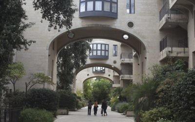 Le luxueux quartier de Mamila à Jérusalem, le 27 octobre 2015. (Crédit : Lior Mizrahi/Flash90)