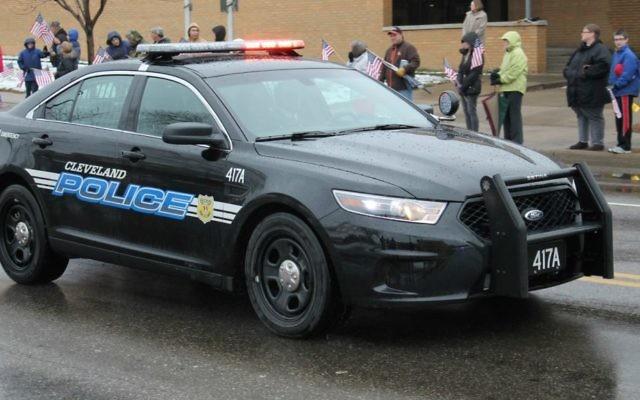 Illustration d'un véhicule de la police de Cleveland en 2014. (CC BY-SA Raymond Wambsgans, Flickr)