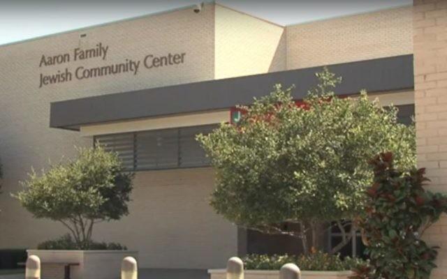 Le centre communautaire juif Aaron Family  de Dallas, au Texas. (Crédit : capture d'écran YouTube)