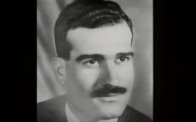 Eli Cohen, agent espion du Mossad, exécuté en Syrie en 1965. (Crédit: capture d'écran YouTube)