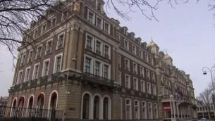 L'hôtel Amstel d'Amsterdam, aux Pays-Bas. (Crédit: capture d'écran YouTube)