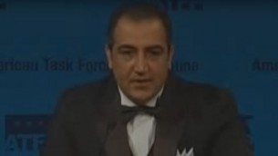 Adnan Mjalli. (Crédit : capture d'écran YouTube)