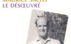 Couverture d'un livre consacré à Maurice Sachs par Thomas Clerc (Crédit: capture d'écran couverture Allia)