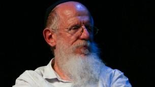 Le rabbin Yaakov Medan, le 7 novembre 2012. (Crédit : Oren Nahshon / FLASH90)