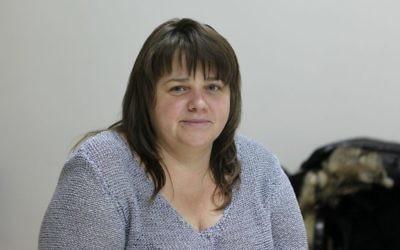 Olga Levus a fondé un club de mère célibataires qui est finalement devenu le service familial juif en Modavie. (Autorisation de JDC/via JTA)