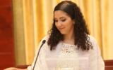 La rabbin Fernanda Tomchinsky-Galanternik. (Crédit : autorisation de la Congrégation israélite Paulita via JTA)