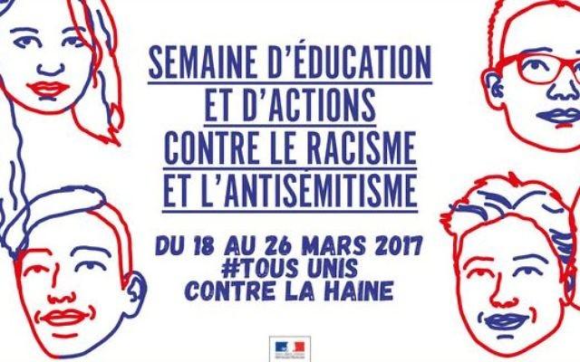 Du  18 au 26 mars se déroule la semaine d'actions contre le racisme et l'antisémitisme en France (Crédit: capture  d'écran/Dilcrah)
