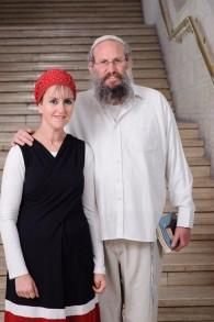 Yehuda et Raheli Livman (Crédit : Chaim Meiersdorf/Matnat Haim)