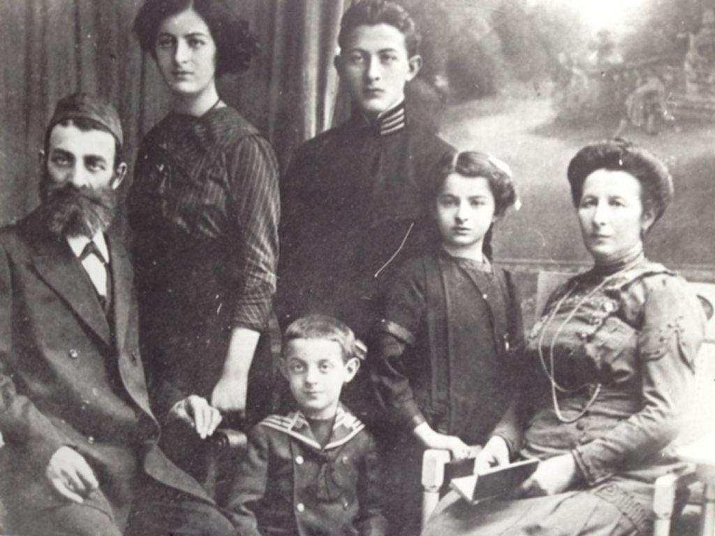 La famille Buchholz aux environs de 1910. (Autorisation)