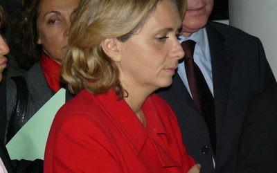 Valérie Pécresse, lors d'une visite du musée du Quai Branly, le 28 novembre 2008 (Crédit : CC BY-SA 3.0/Wikimédia/Siren-Com)