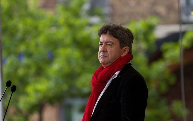 Jean-Luc Mélenchon à Toulouse, en 2013. (Crédit : Pierre-Selim/WikiCommons)