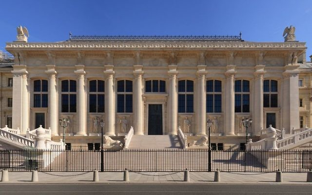 Le Palais de Justice de Paris. Illustration. (Crédit : Benh Lieu Song/CC BY-SA 3.0/WikiCommons)