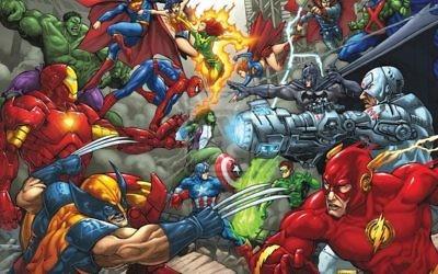 Illustrations de personnages Marvel (Crédit : Flikr/Public Domain)