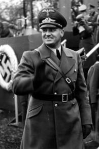 Hans Frank. (Crédit : Wikimedia commons/Archives fédérales allemandes)