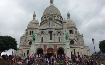 L'église du Sacré-Coeur à Paris (Crédit : domaine public)