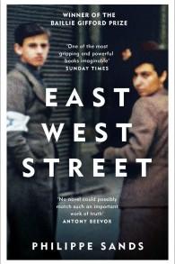 Couverture de 'East West Street' de Philippe Sands. (Autorisation)