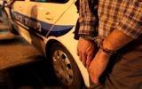 Arrestation d'un homme. Illustration. (Crédit : Abir Sultan/Flash90)